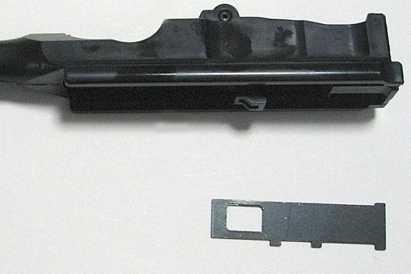 バレルエクステンションインサートの組込み-モーゼル-MAUSER-C96-M712-組立キット-モデルガン-マルシン
