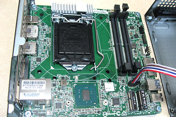 deskmini110-asrock-ベアボーンキット-intel-core-i3-7100-diy-pc-マザーボード
