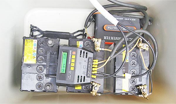 空きスペースに増設する中古バッテリーを配置してみる