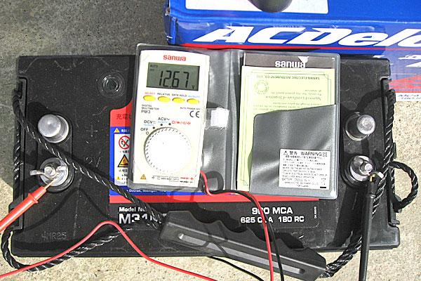 ACデルコ-ボイジャーM31MF-電圧測定