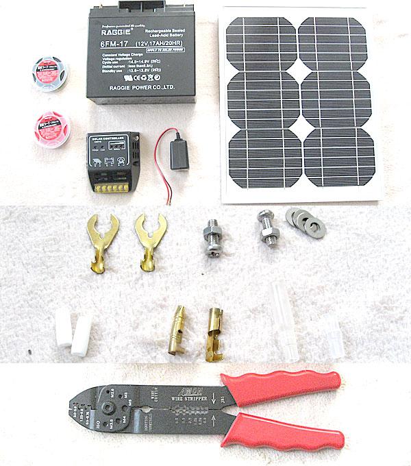 1万円でDIYソーラー発電を自作するのに必要なもの