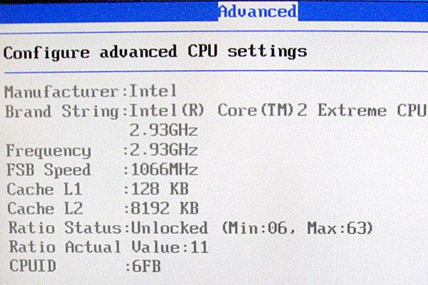 CPUもちゃんと動いています