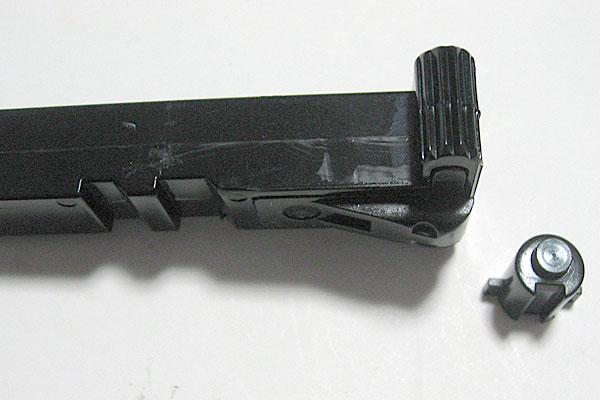 ボルトヘッドの組立てとボルトブロックの組込み完了-モーゼル-MAUSER-C96-M712-組立キット-モデルガン-マルシン