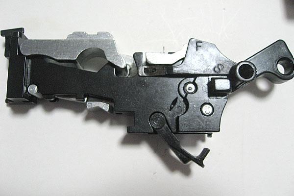 ロックストップの組込み完了-モーゼル-MAUSER-C96-M712-組立キット-モデルガン-マルシン