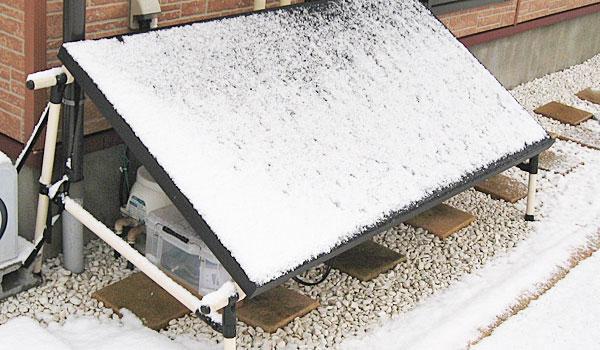 GTIに積雪したので電源OFF