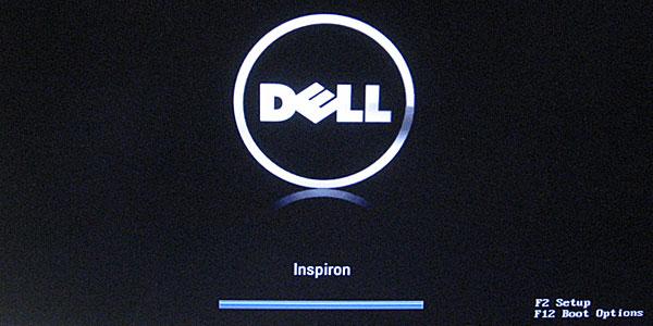 inspiron630-CPU交換後-順調に起動