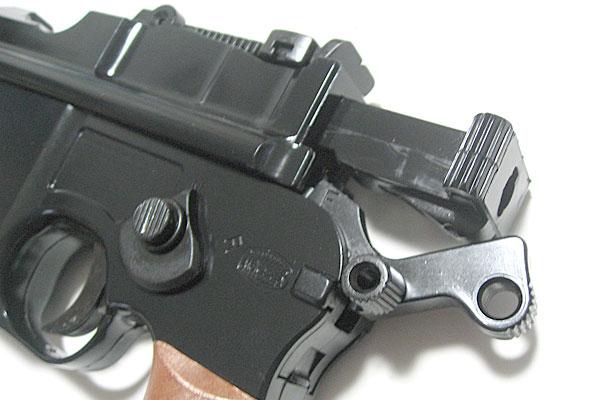 ボルトの組込み-モーゼル-MAUSER-C96-M712-組立キット-モデルガン-マルシン