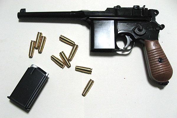モーゼル-MAUSER-C96-M712-組立キット-モデルガン-マルシン