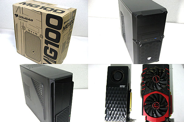 PCケースとグラフィックボードの交換-RANA2からMG100-GTX760からGTX960