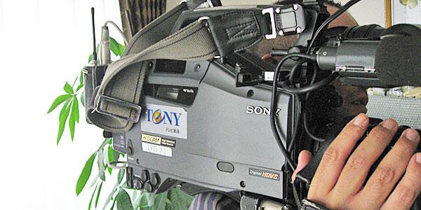 TeNYのテレビカメラ