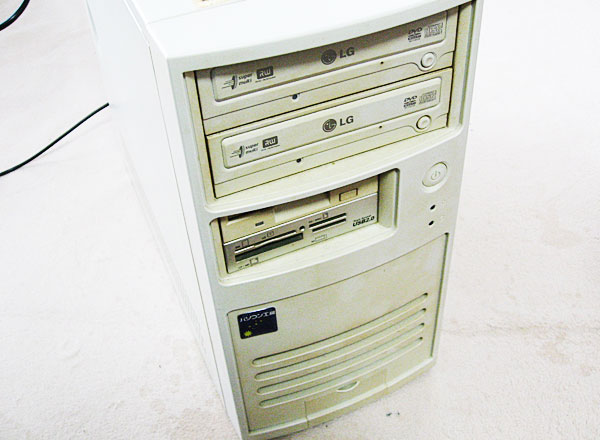 1-不調のパソコン