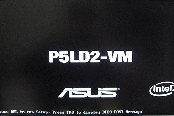 4-メモリとグラフィックボードを外したらBIOSが起動