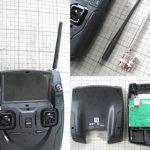 HUBSAN-H502S-H501S-送信機-プロポ-SMAコネクタの社外アンテナ-ハイゲインアンテナ-に交換