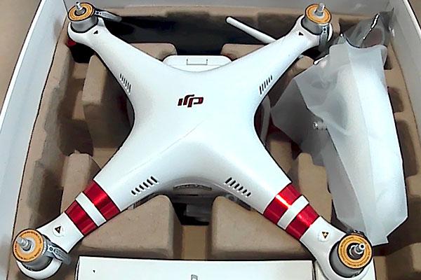 phantom3-standard-箱出し-初フライト-開封