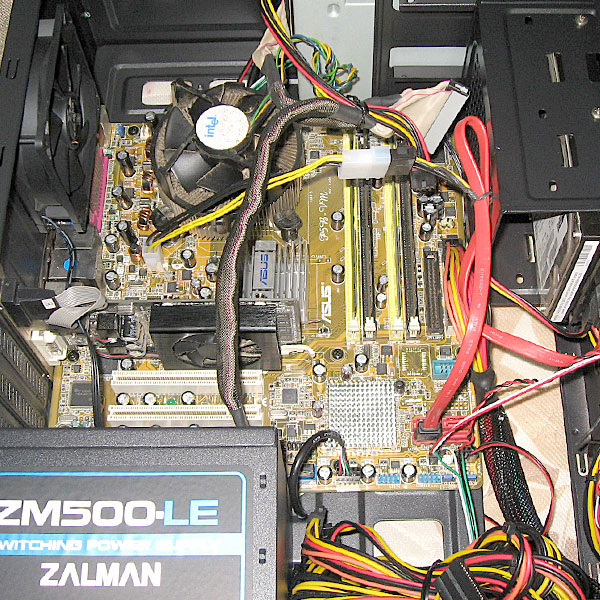 4-CPU交換前のP5B-VM