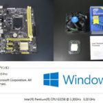 Windows10とZ以外のチップセット(H81/B85/H87/H97/今回はH81)とPentium-G3258の組み合わせでオーバークロックしてみた