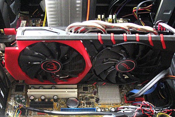 ほんとはGTX-960-GAMING-2Gを増設するだけだったのがマザーボードを交換するハメに