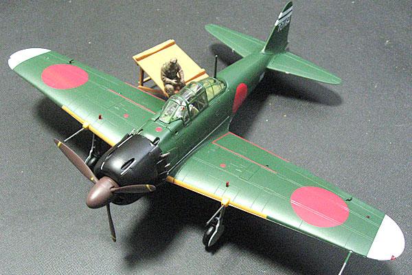 TOMYTEC-トミーテック-零式艦上戦闘機-52乙型-完成1