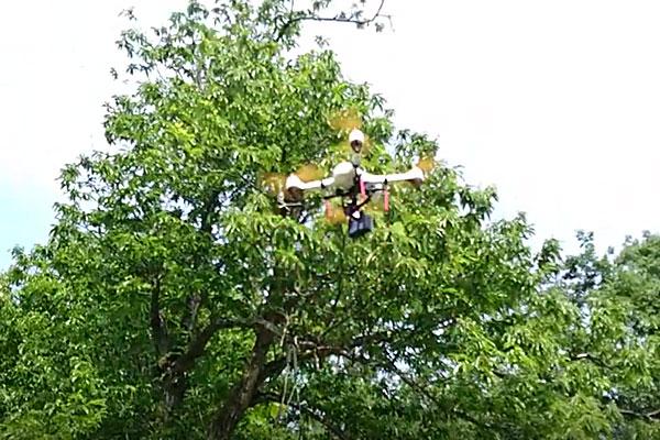 HUBSAN-H501S-箱出しそのままの状態でシッカリ安定飛行できてます
