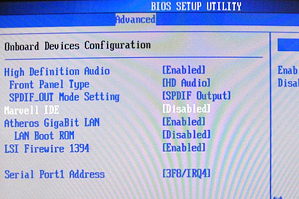 19-ASUS-P5Q-Intel-Core-2-Quad-Q9650-を使って自作PC-BIOS起動-Marvell-IDEをDisabled-無効-IDEスキャンをキャンセル
