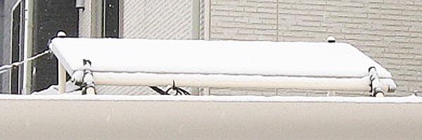 GTIに積雪したので電源OFF-1万円DIYソーラーもこの通り