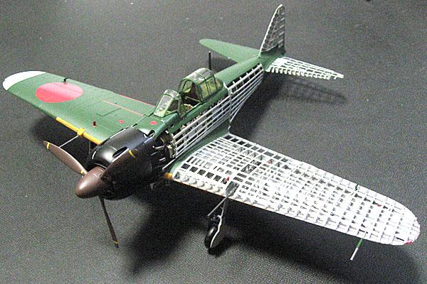 TOMYTEC-トミーテック-零式艦上戦闘機-52乙型-本体完成1