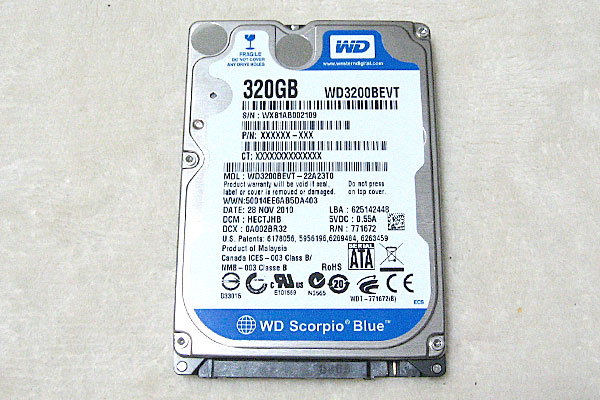 WD-3200BEVT-HDD