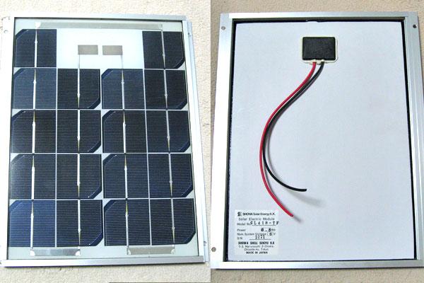 6V系ソーラー(太陽光)パネル
