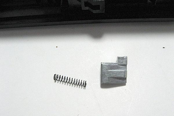 キャッチホックコネクターの組立て-モーゼル-MAUSER-C96-M712-組立キット-モデルガン-マルシン