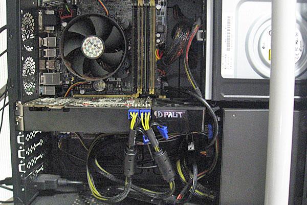 24-マザーボードとCPUの交換-ついでにPaLiT-GTX760の増設-空きスペースいっぱい一杯
