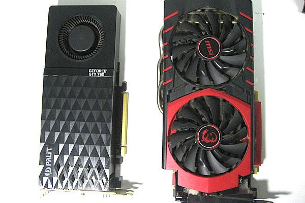 グラフィックボード-PaLiT-GeForce-GTX760-から-msi-GTX960-GAMING-2G-へ交換