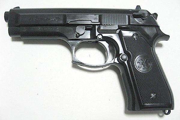 組立て完了-9mmM9-ドルフィン-Dolphin-セミ-フル-セレクティブ-マシンピストル-マルシン-モデルガン組立キット