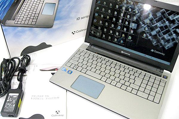 Gateway-ID59C-H52D-SSD化-本体一式