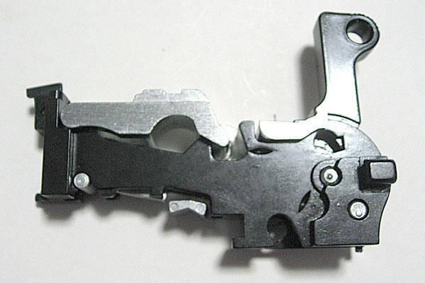 ロッキングブロックの組込み完了-モーゼル-MAUSER-C96-M712-組立キット-モデルガン-マルシン
