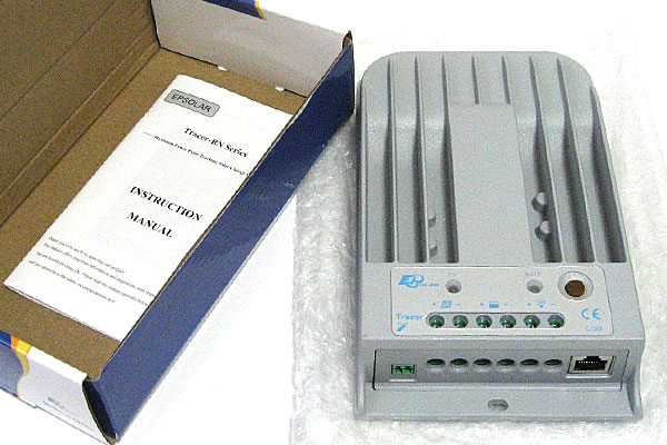 MPPTチャージコントローラー-Tracer1215BN(10A)-開梱