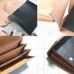 なんちゃってレザークラフトでロングウォレットというか長財布というかクラッチバッグっぽいのを作ってみよう!