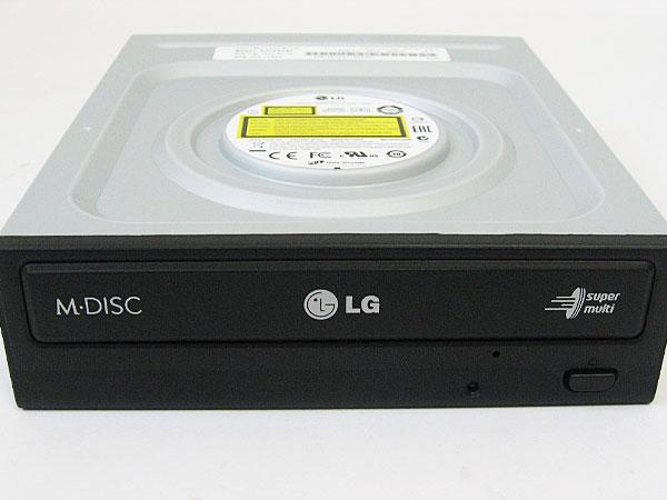 DVDドライブはLG-GH24NSB0-BL