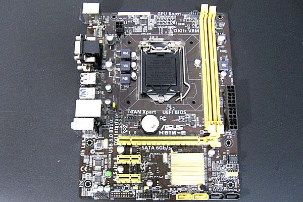 z13-windows10-マザーボード-メモリ-CPU-一気に交換-ASUS-H81M-E