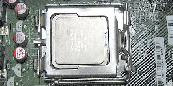 inspiron630-E6550-E8600-CPU交換完了