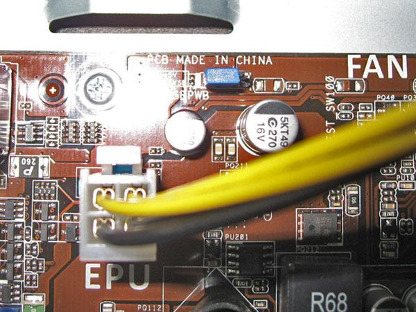 ジャンパピンを差し替えて電源OFF時のUSBへの給電をカット