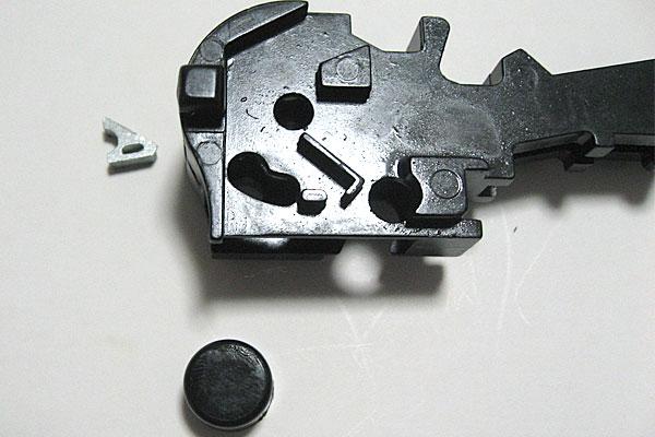 ロックフレームの組立て-モーゼル-MAUSER-C96-M712-組立キット-モデルガン-マルシン