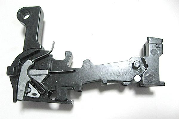 ロッカーカップリングの組込み完了-モーゼル-MAUSER-C96-M712-組立キット-モデルガン-マルシン
