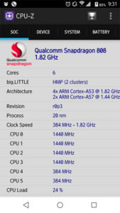 ARROWS-NX-F-02H-CPU-Zでチェック