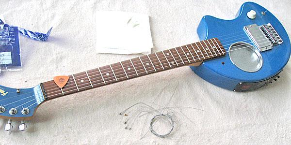 フェルナンデスZO-3の弦の張替え